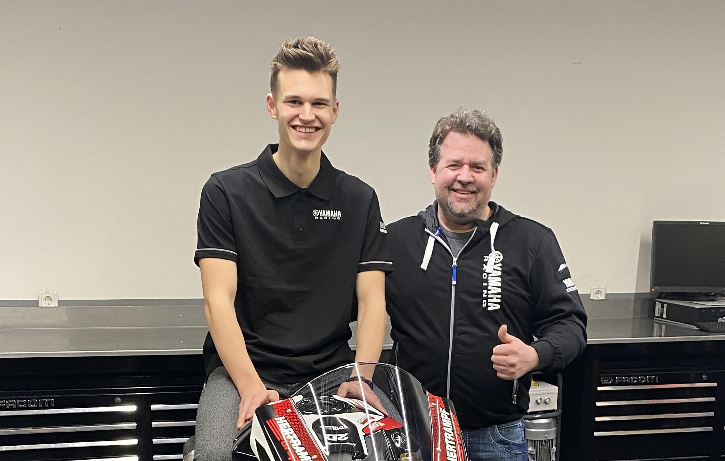 IDM SBK 1000: Neues Bike und neuer Fahrer bei Hertrampf
