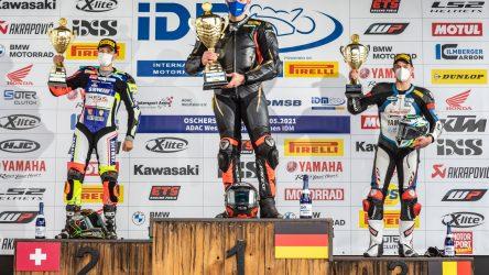 IDM SBK 1000: Moser gewinnt Wetter-Krimi zum Auftakt