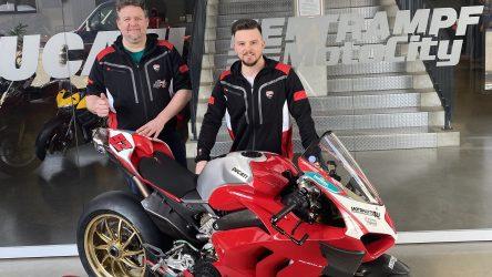 IDM Superbike 1000: Hertrampf bringt Ducati ins Rennen