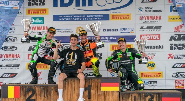 IDM SSP 300: Geiger-Sieg nach Foto-Finish, Lehmann Meister